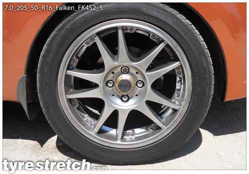 205 50 R16 >> Tyrestretch.com 7.0-205-50-R16 | 7.0-205-50-R16-Falken-FK452-5
